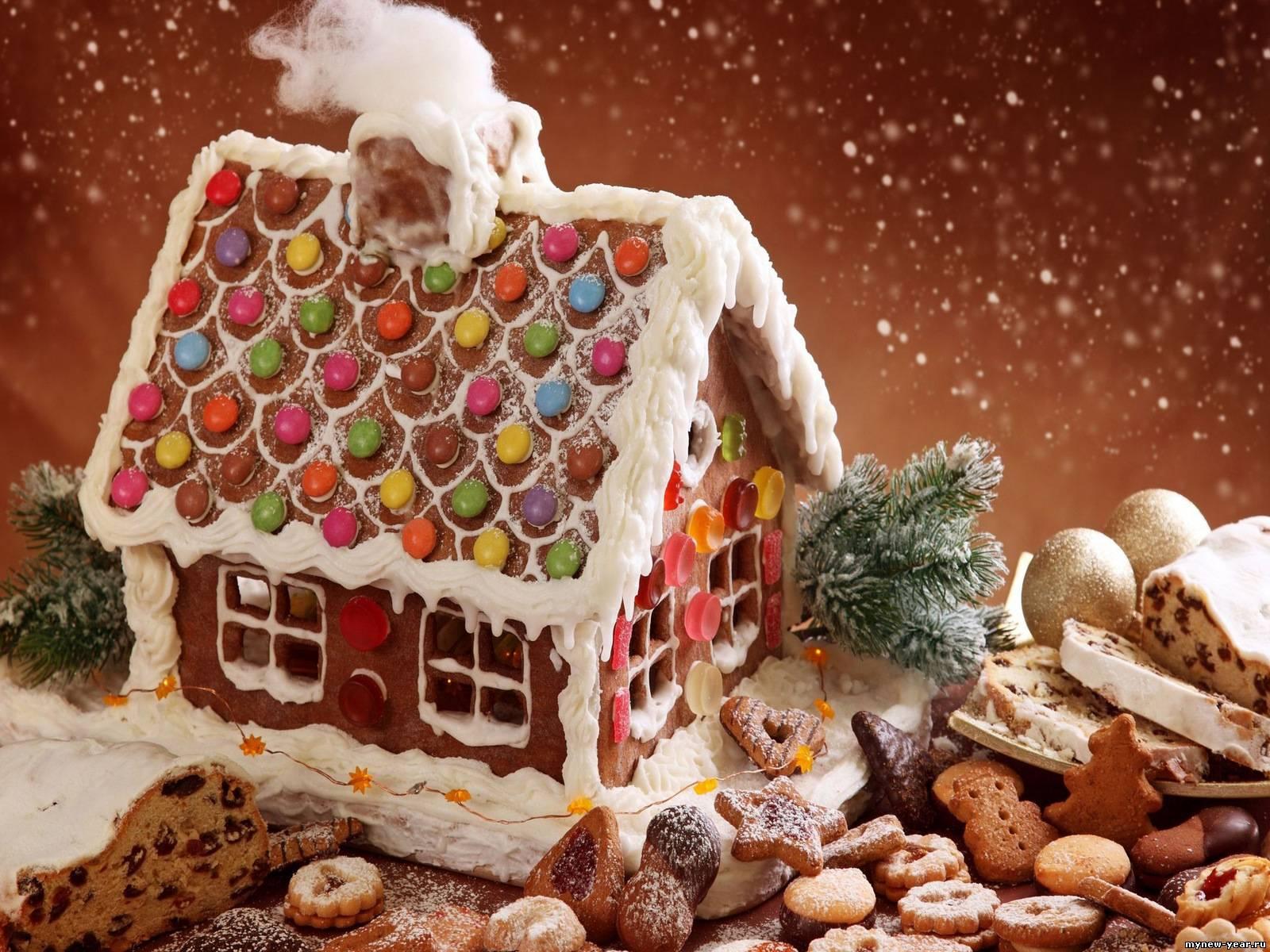 Домик со сладостями как сделать